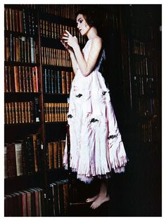 Keira Knightley by Ellen von Unwerth and styled by Leith Clark, for #Vogue Italia January 2011