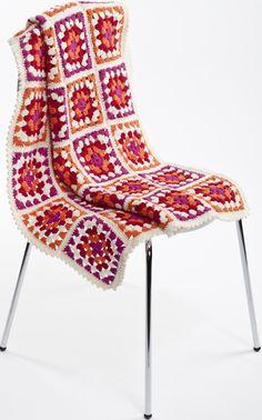 Isoäidinneliö & -peitto Novita 7 Veljestä Butterfly Chair, Knitting Yarn, Knit Crochet, Scrap, Crochet Patterns, Sewing, Yarns, Blankets, Merry