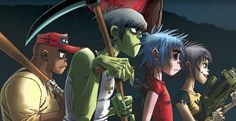 Garage Palace (feat. Little Simz) - Gorillaz