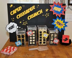 Superhero Birthday Party Ideas | Photo 3 of 22 | Catch My Party