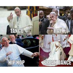 ★★★★★ Memes de risa para el chat de facebook: El mejor Papa de la historia I➨…