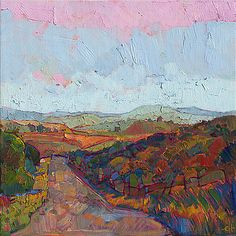 Country Road by Erin Hanson
