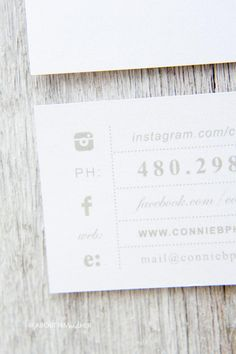 A chic and elegant way to market your brand or feature your personality is with custom business cards from Tiny Prints.