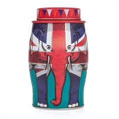 Williamson Tea Union Jack Elephant English Breakfast Tea : how appropriate :p