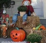 outside fall decorating ideas - Bing Images