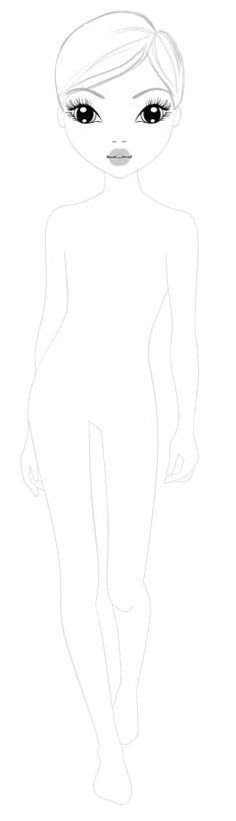 top model book coloring pages vosvetenet