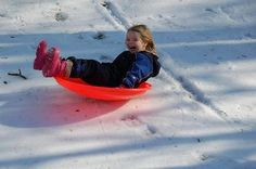 Sledding - Article with a list of top 10 sledding areas in the Twin Cities
