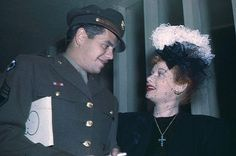 Lucy & Desi During WWII   Flickr - Photo Sharing!