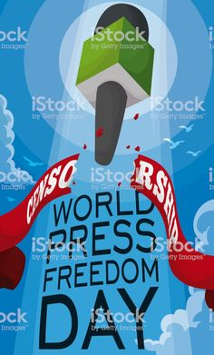 Freedom Images, Freedom Day, World Press, Free Vector Art, Journalism, Image Now, Illustration, Journaling, Illustrations