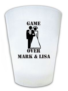 120  Wedding Favors Personalized Funny Humorous Shot by Factory21, $99.00