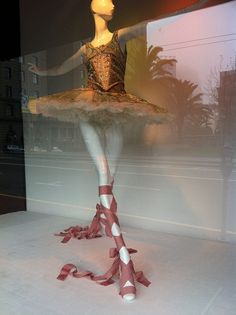 a department store window in San Francisco