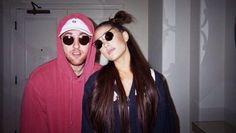 the best singer to exist, ariana grande. Mac Miller And Ariana Grande, Ariana Grande Mac, Ariana Grande Photos, Selfies, Noah Cyrus, Bae, Dangerous Woman, Queen, Celebs