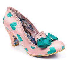 <p>Show some love for these sweetheart design classic kanjanka's this season. Comes with a lurvely bold love heart fabric upper with a multi glitter encrusted mid heel, slipper style and a gross grain bow with a gold IC charm.</p> <ul> <li>Mid heel</li> <li>IC charm</li> <li>Embroidery</li> </ul> <p></p>
