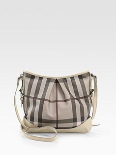 Burberry Check Crossbody Bag: i want this bag for next year !!!