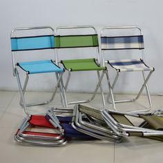 6 color portable folding stool camping new fishing chair Fishing chair base shelf bracket rod / bait dish rack lights