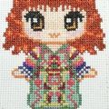 free cross stitch charts of Harry Potter characters, cutified.
