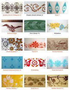 Pyrex patterns 4