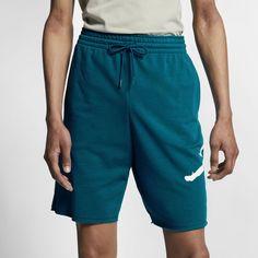 9627e8ba8f2920 Jordan Jumpman Logo Men s Fleece Shorts Size L (Green Abyss)