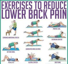 Lower Back Pain Relief Stretching Exercises