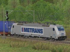 E-Lok BR 386 Metrans EpVI Erweiterungs-Set 2