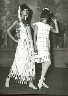 Paco Rabanne, Dresses, 1966