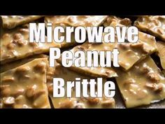 No need for complicated recipes or candy thermometers to make this delicious Microwave Peanut Brittle. Easy and fast to make! No need for complicated recipes or candy thermometers to make this delicious Microwave Peanut Brittle. Easy and fast to make! Homemade Peanut Brittle, Microwave Peanut Brittle, Peanut Brittle Recipe, Brittle Recipes, Microwave Recipes, Cooking Recipes, Candy Recipes, Dessert Recipes, Dessert Ideas