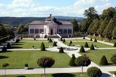 Klostergärten in Niederösterreich - Barockgarten in Kloster Melk  ... #gärten #reisen