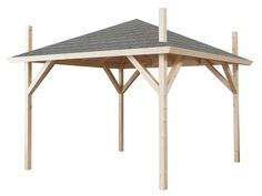 Interflex HP3000 hooibergpaviljoen Gazebo, Pergola, Chicken Runs, Stables, Outdoor Living, Outdoor Structures, Home, Kit, Garden