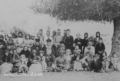 Villagers from Lania and Pera Pedi, Cyprus, 1890 World Library, Old Greek, Photographs Of People, Rare Photos, Best Memories, Cyprus, Pedi, Greece, The Past