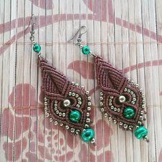 #gypsystyle #gypsy #handmade #macrameearrings #macrame #macramejewelry…