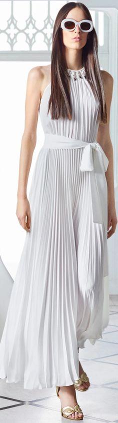 White Dress Summer, Summer Dresses, Formal Dresses, Wedding Dresses, Ellie Saab, Timeless Elegance, White Fashion, Pure White, Spring Summer Fashion