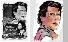 Army of Darkness poster - Mid colouring