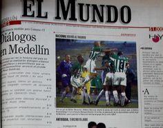 Primera página de El Mundo el 21 de octubre del 2002.