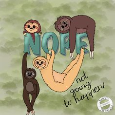 Cute sloths just hangin, doing nothing Cute Sloth, Sloths, Fallout Vault, Shit Happens, Boys, Fictional Characters, Design, Art, Baby Boys