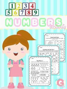 This numbers package is full of fun printables that will help your students learn math skills using the numbers 1-10. The sheets can be used for independent work, math centers, morning work and homework.This Numbers 1-10 Package included (30 pages)  : Write NumbersCount ObjectsDetermine One More and One Less Identify Larger and Smaller NumbersSimple AdditionMost of the subjects, i made it seperated between 1-5 and 6-10.