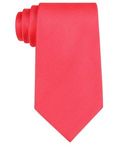 Tommy Hilfiger Tie, Solid Brights - Mens Ties - Macy's