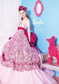 #barbie bridal