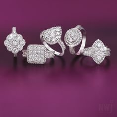 Diamond Collection: 18ct Gold and Diamond Rings By NWJ *Valid for 2013