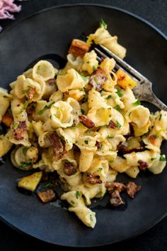 NYT Cooking - Pasta, Bacon and Parsnips Bacon Recipes, Pasta Recipes, Cooking Recipes, Cooking Pasta, Cooking Spaghetti, Cooking Cake, Cooking Bacon, Cooking Turkey, Cooking Gadgets