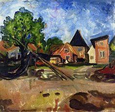 Edvard Munch - From Travemünde, 1903.