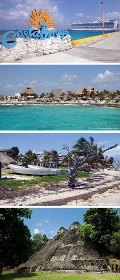 Three very different adventures in Mahahual, Costa Maya, Mexico  by Calculated Traveller. Each one perfect for the cruise ship passenger who only has one single day to explore