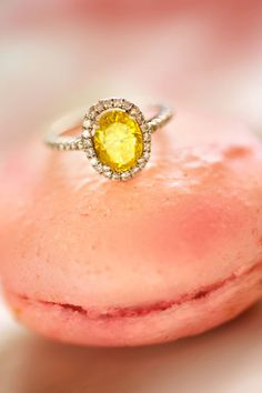 the ring would be nice, and is that some sort of food it's sitting on? cuz, well, i'll probably take that too..