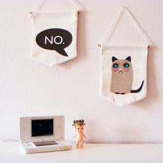 Duo de Banderolas Grumpy CAT