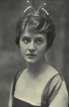 "Miss Elsie Ferguson. 1910s - Known as the ""Aristocrat of the Silent Screen""."