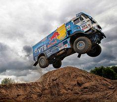 Red Bull Dakar truck
