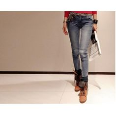 09f49ff567a Significant winter female pencil pants skinny pants stretch Long Pants