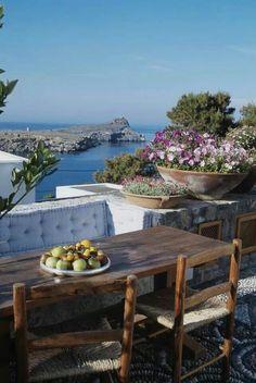 Lindos , Rhodes island