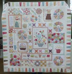 decorating with quilts on the wall - Google Search