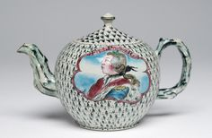 Fredrick of Prussia Teapot England (Staffordshire), 1760 The Philadelphia Museum of Art