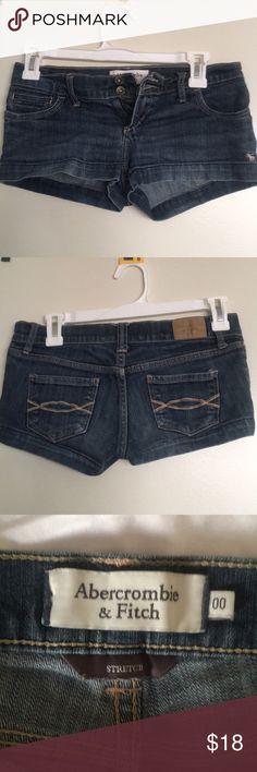 Abercrombie jeans sketch shorts Low rise jean shorts Abercrombie & Fitch Shorts Jean Shorts